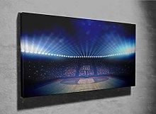 Basketball Arena Photo Canvas Print (31460212)