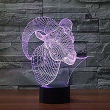 Basketball Gifts Bike Lights 3D Lamp Creative