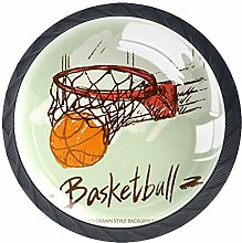 Basketball in Basket-01Basketball in Basket-01