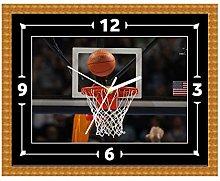 Basketball NBA Wall Clock Gift Present Christmas