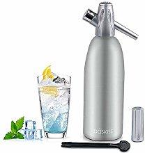 Baskiss Soda Siphon Maker, Making Sparking Water