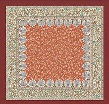 Bassetti Barisano O1 Tablecloth 170 x 170 cm Orange