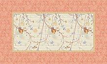 Bassetti Tablecloth, Cotton, Beige, 150 x 250 x 1