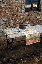 Bassetti Tablecloth, Cotton, Mehrfarbig (Beige),