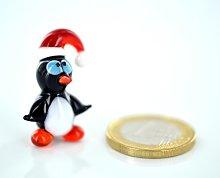 basticks.de Penguin with Red Stocking Cap Mini -