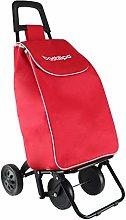Bastilipo Folding 4-Wheel Shopping Cart 37 Litre