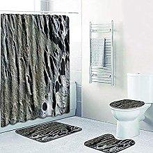 Bath Mat Set 4 Piece,Bath Mat Set Waterproof
