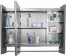 Bath Mirror Cabinet Bathroom Wall Mounted Medicine
