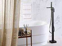 Bath Mixer Tap Black Matt 118 cm Modern Bathroom