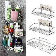 Bath Shelf Stainless Steel Bathroom Kitchen Shelf