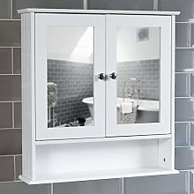 Bath Vida Bathroom Cabinet Mirrored Double Doors