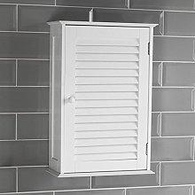 Bath Vida Bathroom Cabinet Single Door Shutter