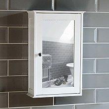 Bath Vida Bathroom Cabinet Single Mirrored Door