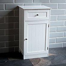 Bath Vida Bathroom Cupboard 1 Door 1 Drawer Floor
