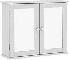 Bath Vida Priano 2 Door Mirrored Wall Cabinet