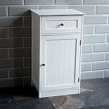 Bath Vida Priano Bathroom Cupboard 1 Door 1 Drawer