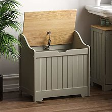 Bath Vida Priano Bathroom Laundry Cabinet Storage