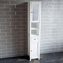 Bath Vida Priano Tall Mirrored Bathroom Cabinet