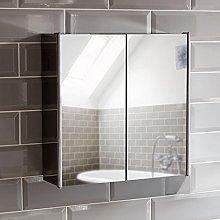 Bath Vida Tiano Bathroom Cabinet Double Mirror