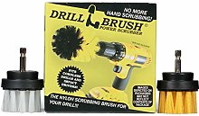 Bathroom Accessories - Drill Brush - Cleaning