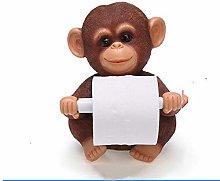 Bathroom Accessoriesdecorative Monkey Tissue Box