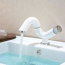 Bathroom Basin Mixer Tap with Swivel Spout Solid