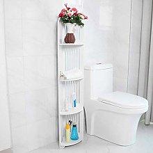 Bathroom Cabinet, Corner Bookshelf Free Standing