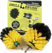 Bathroom - Cleaning Supplies - Drill Brush -
