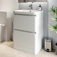 Bathroom Cloakroom Vanity Unit Wash Basin Base