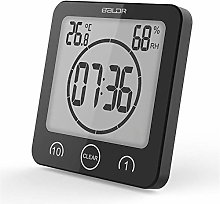 Bathroom Clock, Shower Timer Alarm Digital