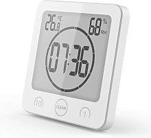 Bathroom Clock Timer Bathroom Thermometer