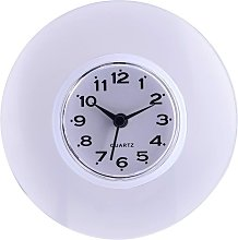 Bathroom Clock with Suction Cups - Wall Clock for