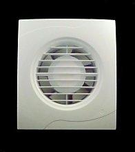 BATHROOM EXTRACTOR FAN 100mm BASIC white