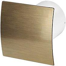 Bathroom extractor fan, diameter 100 mm, ball