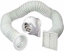 Bathroom Fan Kit Loft Ceiling Mounted Extractor