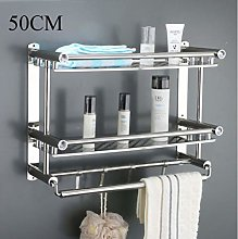 Bathroom kitchen accessory set 2 layers stainless