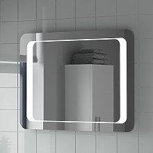 Bathroom LED Illuminated Mirror With Demister