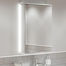 Bathroom LED Mirror Cabinet Cupboard Demister Pad
