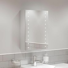 Bathroom LED Mirror Cabinet Illuminated Demister