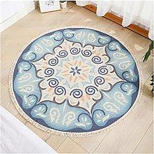 Bathroom mat Geometric Round Carpet for Living