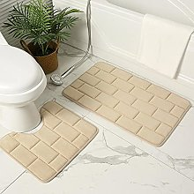 Bathroom mats, chenille floor mats, non-slip
