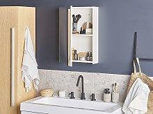 Bathroom Mirror Cabinet White 40 x 60 cm Modern