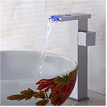 Bathroom Mixer Tap Free Shipping Chrome Led Faucet