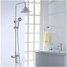 Bathroom Plumbing Hardware Copper Shower Set Full