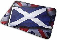 Bathroom Rugs Bath Mat Scotland Flag, 16x24 Inch,