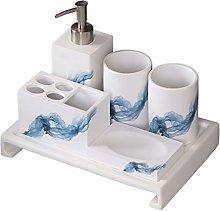 Bathroom Set Simple Bathroom Accessories Set