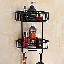 Bathroom Shelf Shower Shelf Kitchen Shelf Black