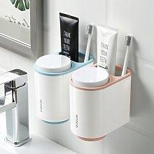 Bathroom shelf Storage box Cup shelf blue powder 2