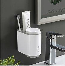 Bathroom Shelf Storage Box Gray Cup Shelf