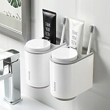 Bathroom Shelves Storage Box Gray Cup Shelves 2